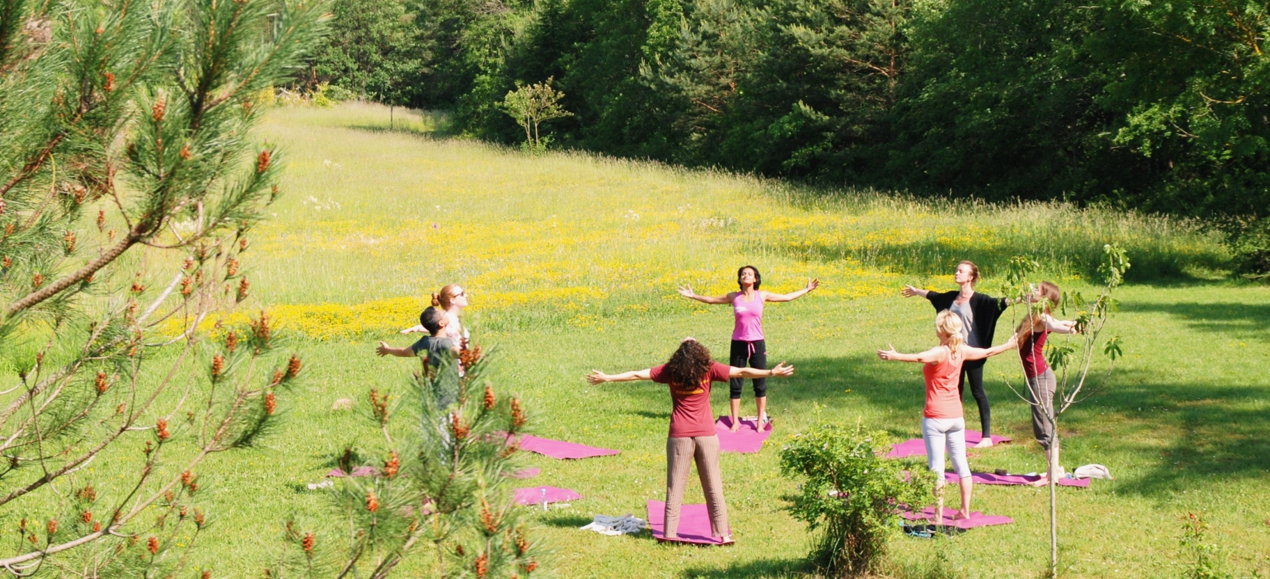 Living Yoga Retreat France